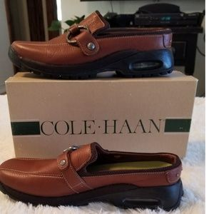 🍀 Cole Haan Leather  Slip-on Shoes (Clogs) NWOT